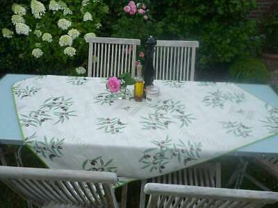£14.82 • Buy Tablecloth Provence 130x150 CM Olives Cream From France Non-Iron