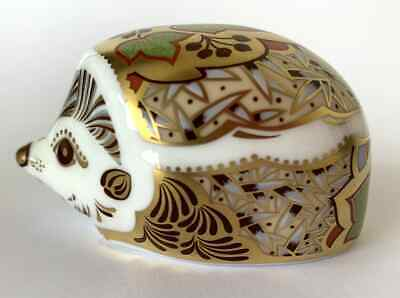 £49.95 • Buy Royal Crown Derby Boxed Paperweight 1st Quality 'Ivy Hedgehog' Gold Stopper (2)