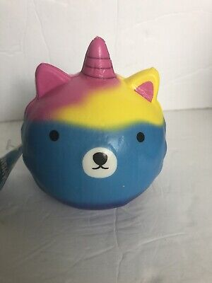 """AU4.65 • Buy JUMBOW Cute 5"""" """"BLUE UNICORN"""" Slow Rising Squishes Scented TOY Gifts"""