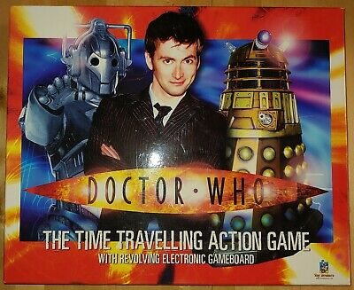 £13 • Buy DOCTOR WHO The Time Travelling Action Board Game