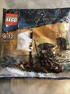 £12.50 • Buy New & Sealed LEGO 30131 Pirates Of The Caribbean Jack Sparrow & Boat Polybag