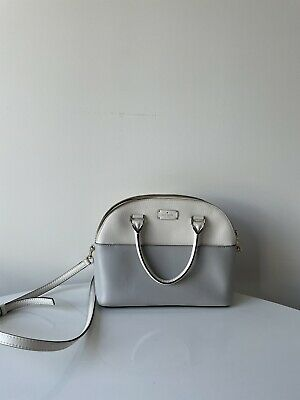 AU70 • Buy Kate Spade Handbag: White And Mauve Block Colouring; Pre-owned Good Condition