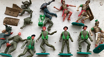 £62 • Buy Vintage Timpo Toys Soldiers Ww2 + Romans