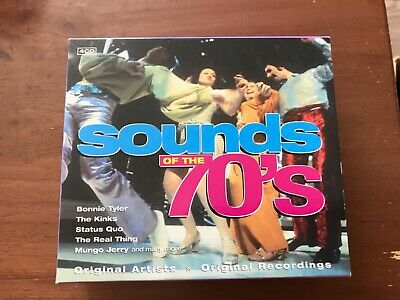 £1.99 • Buy 4 Cd Box Set Of Sounds Of The 70s