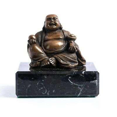 £29 • Buy Bronze Buddha On A Solid Marble Base. Art Sculpture, Gift, Sculpture, Ornament.