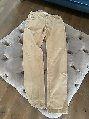 £3 • Buy Tan Coloured Boys Trousers- Age 10-11- George. Only Worn Once