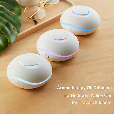 AU19.97 • Buy Essential Oil Diffuser 7 Colors Changing Light For Bedroom Office Car AU H7T1