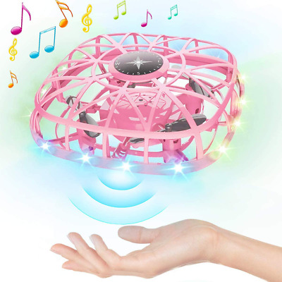 AU53.25 • Buy Hand Operated Drones For Kids Adults Mini UFO Drones Flying Ball Toys With Music