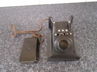 £21 • Buy  Vintage Retro Old Bakelite Telephone Collectable Ornament Upcycling