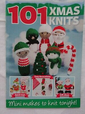 £0.99 • Buy Christmas Toy Knitting Pattern Booklet    4 Ply