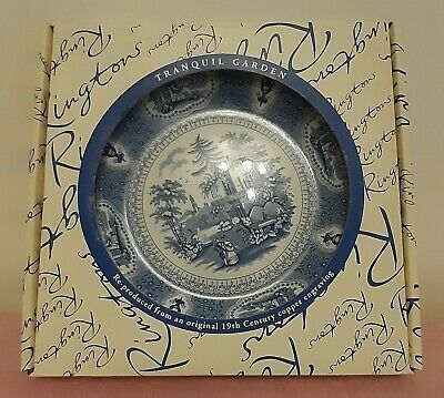 £3.99 • Buy Ringtons Boxed Collector Pate Tranquil Garden Ceramic Plate New & Boxed