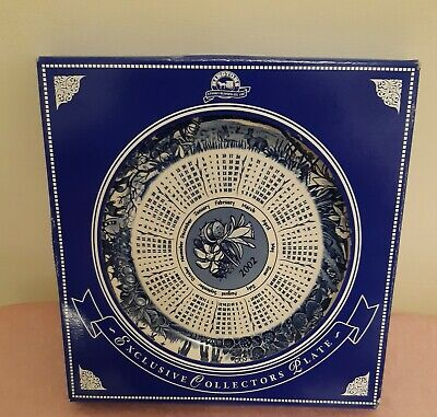 £3.99 • Buy Ringtons Boxed Collector Pate 2002 Calendar Ceramic Plate New & Boxed