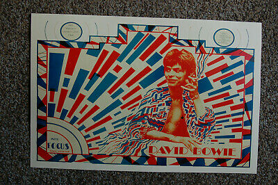 $4 • Buy David Bowie Concert Poster 1972 Holland--