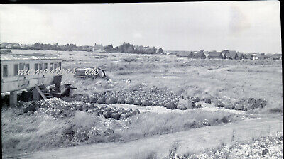 £24.99 • Buy Selsey Old Railway Carriage Lobster Pots Negative 1950's West Sussex Photograph