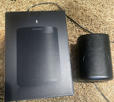 AU100.15 • Buy Sonos PLAY:1 Compact Wireless Speaker - Black (Excellent Condition)