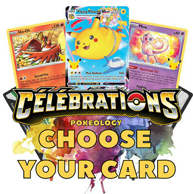 AU1.20 • Buy 🎉 CHOOSE YOUR CARD 🎉 Celebrations 25th Anniversary 🎉 Pokemon Cards
