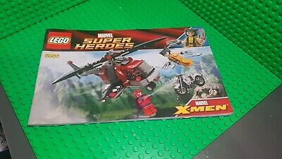 £0.99 • Buy LEGO SUPER HEROES WOLVERINE's CHOPPER SHOWDOWN SET 6866 Instructions Only