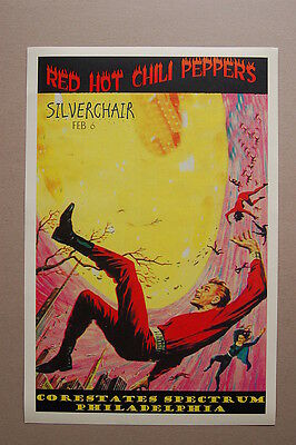 $3 • Buy Red Hot Chili Peppers Concert Tour Poster1994 Philadelphia Corestate Silverchair