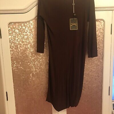£49.99 • Buy Vivienne Westwood Dress, Anglomania, Burgundy Accident Dress, Size Small