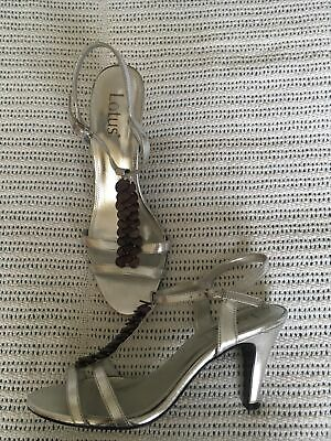 £4.80 • Buy Lotus Silver Sandals Size 5 Nearly New
