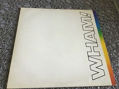 £10.50 • Buy Wham , The Final ,double  L. P.  Complete With Insert, George Michael.