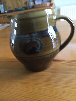 £58 • Buy Winchcombe Pottery Lovely Slipware Jug Old WP PG Marks Immaculate