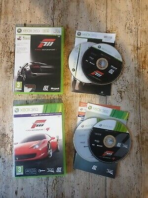AU2.57 • Buy Forza Motorsport 3 & 4 Xbox 360 Racing Game / Games Bundle Tested And Working