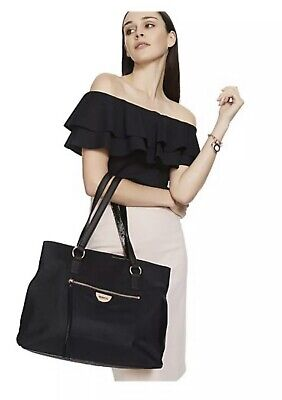 AU125.99 • Buy Mimco Echo Worker TOTE Hand Bag BNWT BLACK ROSE GOLD Large Free Post Authentic