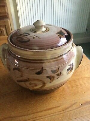 £82 • Buy Winchcombe Pottery Stunning Early Huge Slipware Covered Pot WP ST Marks