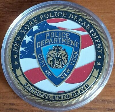 £6.50 • Buy New York Police Department Challenge Coin Nypd Police  Detective Coin
