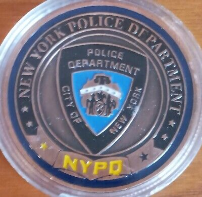 £5 • Buy New York Police Department Challenge Coin Nypd Police Coin