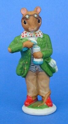 Franklin 1985 Woodmouse Family Mouse Figurine Alexander • 17.99$