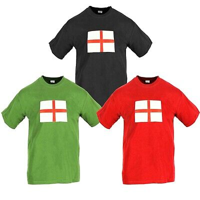 £9.90 • Buy T Shirt St George England Flag Cotton Short Sleeve World Cup Sport Game Unisex