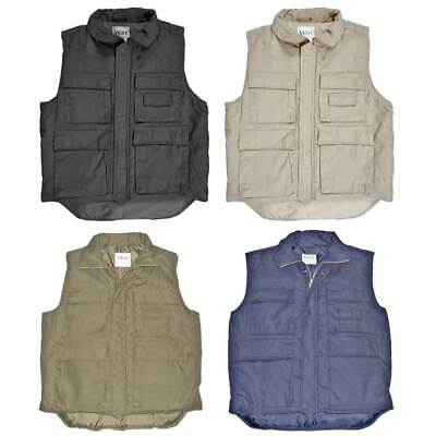 Padded Body Warmer Fishing Hunting Shooting Army Combat Style Multi Pocket Vest • 18.90£