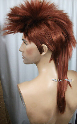 $28.99 • Buy Quality MOHAWK Wig ..Unisex .. FOX RED!   HOT! * Best Seller For 19 Years