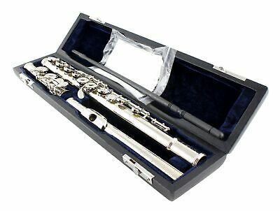 £72.71 • Buy BAND C FLUTE - SILVER PLATED  With Case & Accessories