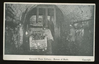 Staffs CANNOCK CHASE Colliery Shaft Bottom PPC • 29£