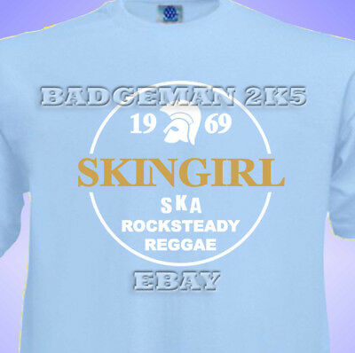 SKINGIRL Spirit Of 1969 Unisex T-Shirt Skinhead SKA Reggae ROCK STEADY TROJAN  • 10.95£