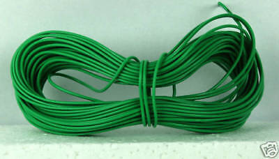 £2.99 • Buy Expo A22023 Model Railway Layout Wire 10m 1.4A Green