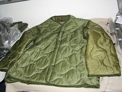 $29.95 • Buy M65 Coat Liner Jacket Cold Weather Size LARGE Military