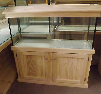 AU445 • Buy 4ft Aquarium - Glass Fish Tank Plus Cabinet Hood And Base Brand New
