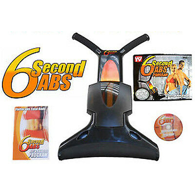AU204.83 • Buy Six 6 Pack Second Abs Exerciser Crunch Toning Stomach Exercise Machine Ab New