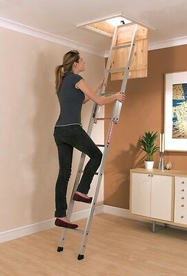 Youngmans Spacemaker Aluminium Loft Ladder • 55£