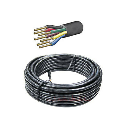 AU89 • Buy Cable 7 Core 3mm Trailer Cable Wire 30m Roll