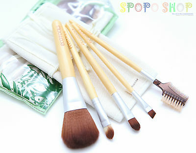 AU8.95 • Buy NEW Eco Tools 6 Pieces Bamboo Makeup Brush Set (Earth Friendly Beauty)