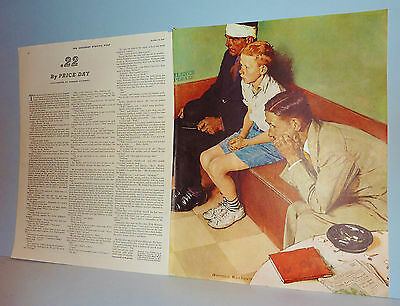 $ CDN11.45 • Buy NORMAN ROCKWELL Oct 16 1937 SATURDAY EVENING POST - Illustration Only -  .22