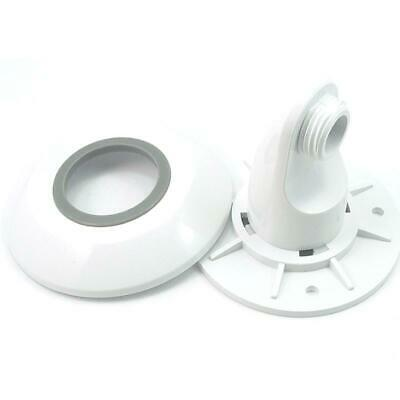 £13.49 • Buy Aqualisa Wall Outlet Elbow White 215015 Hose Connector