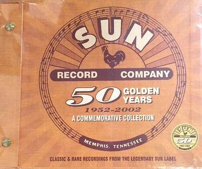 £39.95 • Buy SUN Record Company - 50 Golden Years  A Commemorative Collection CD/BOX SET Gift