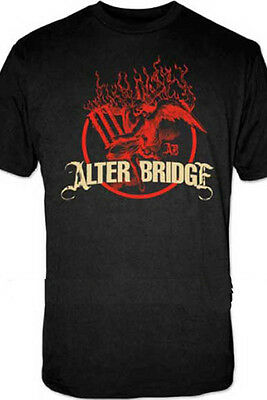 £16.34 • Buy ALTER BRIDGE - Flames Black:T-shirt NEW - SMALL ONLY