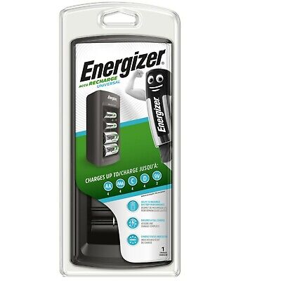 Energizer 3 Hour Universal Battery Charger For AA AAA C D & 9V Ni-Mh Ni-Cd  • 19.95£